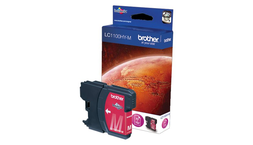 Brother Muste Magenta LC1100HYM 750 SIDOR