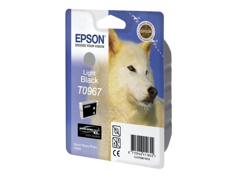 Epson Muste Kevyt Musta - STYLUS Kuva R2880