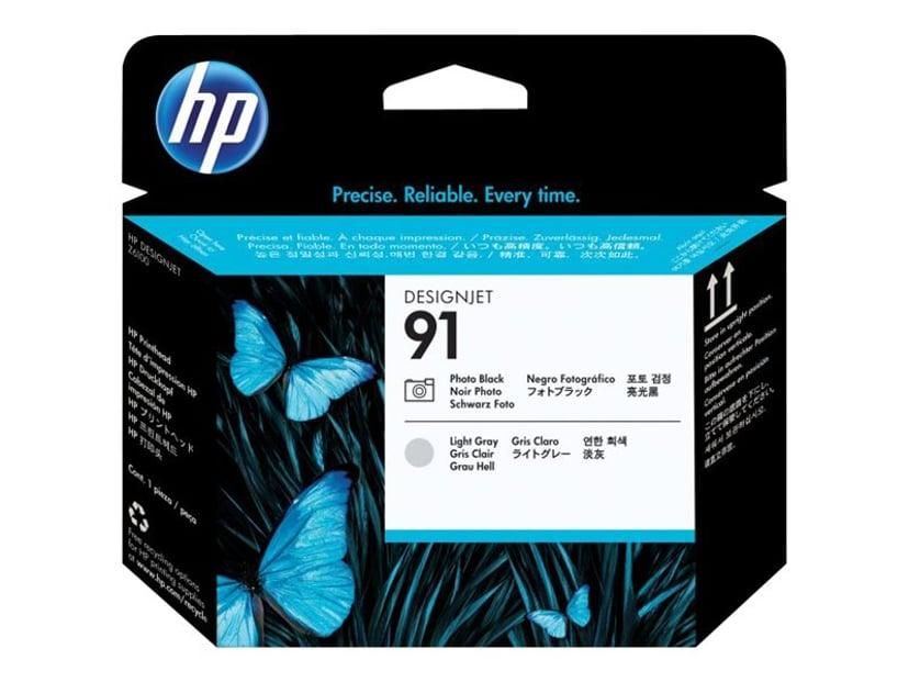 HP Printhead No.91 Foto Svart/Ljus Grå