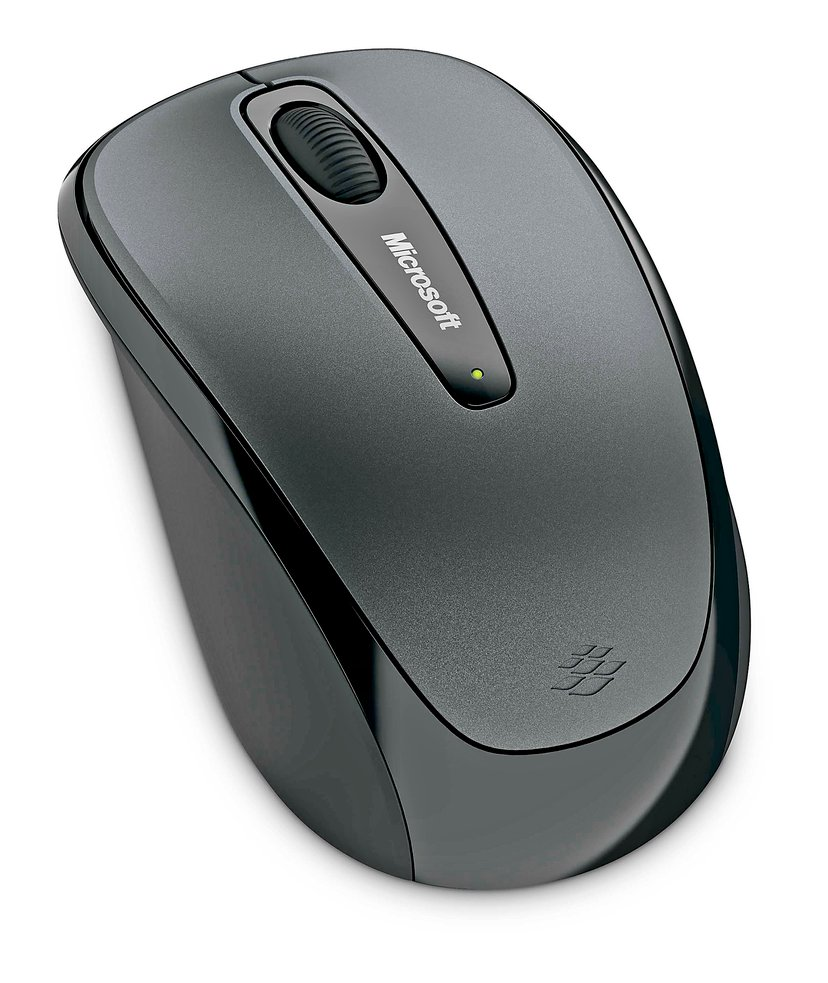 Microsoft Wireless Mobile 3500 1,000dpi Mus Trådlös Grå