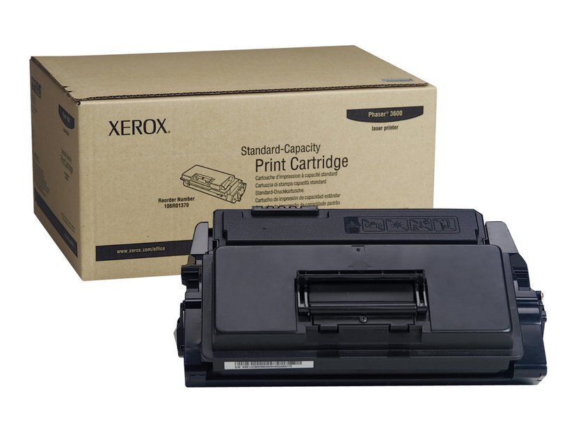 Xerox Toner Sort 7k - Phaser 3600