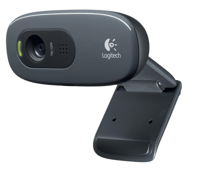 Logitech C270 HD 1280 x 720 Webkamera Sort