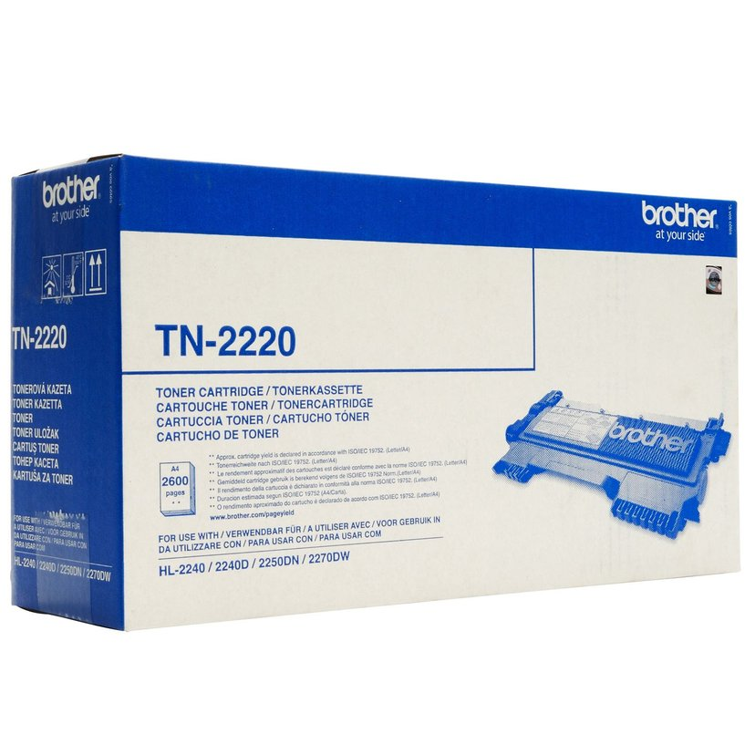 Brother Toner Zwart TN-2220 2.6k - HL-2240/2250