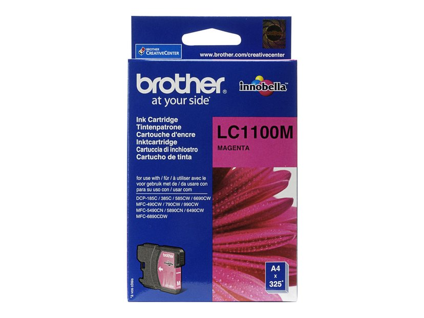 Brother Bläck Magenta - LC1100M 325 PAGES