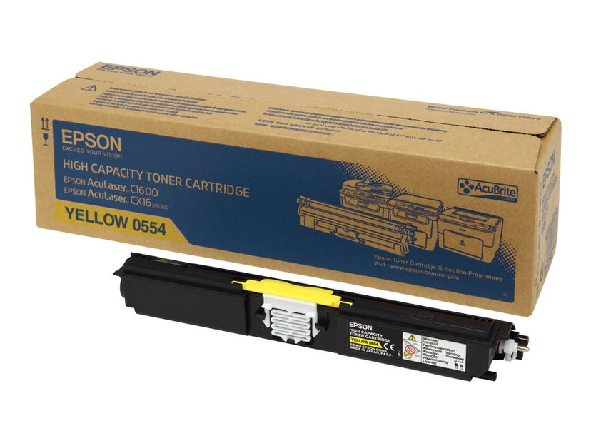 Epson Toner Gul 2,7k - C1600