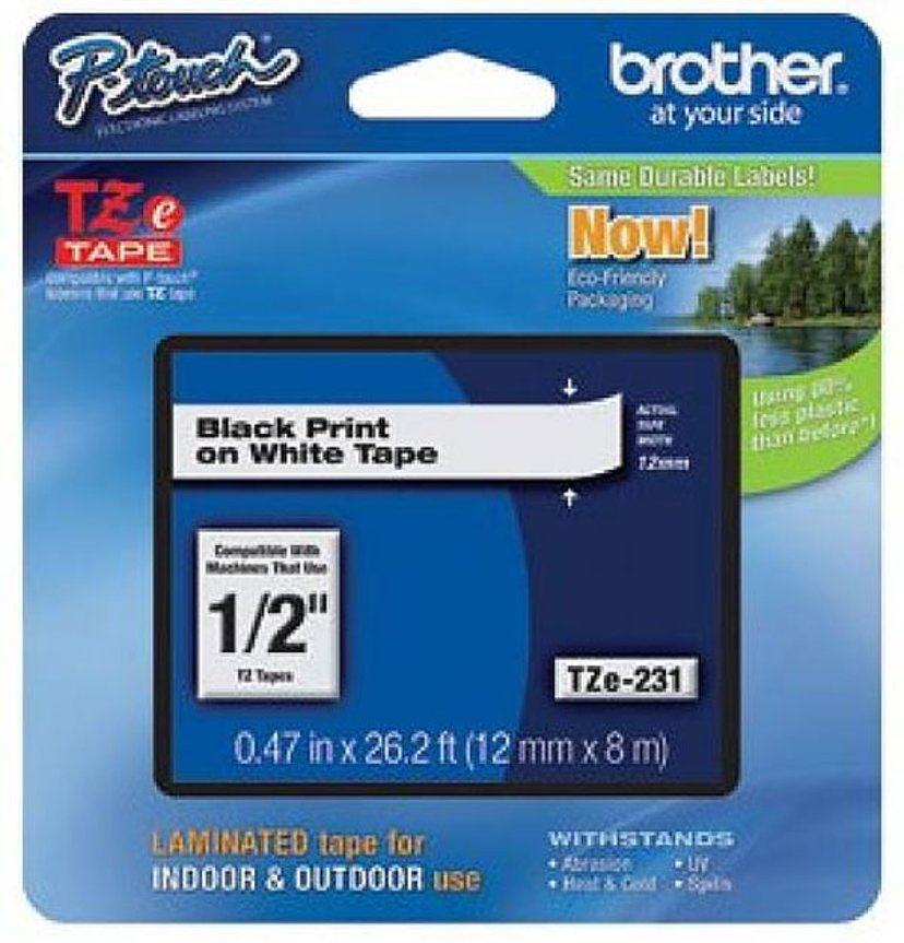 Brother Tape TZE-M931 12mm Sort/Silver