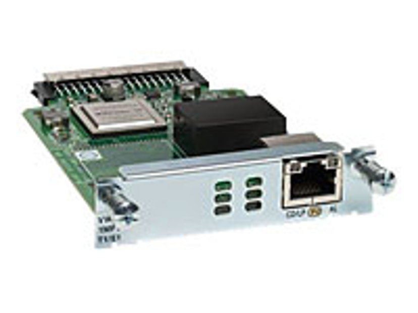Cisco Third-Generation Multiflex Trunk Voice/WAN Interface Card
