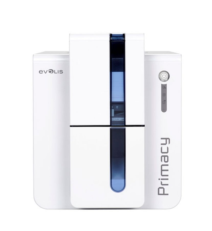 Evolis Primacy USB/Eth Blue Front
