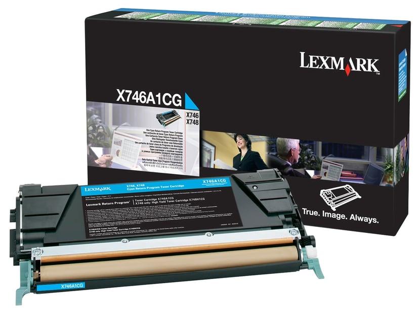 Lexmark Toner Cyan 7k - X746/X748 Return