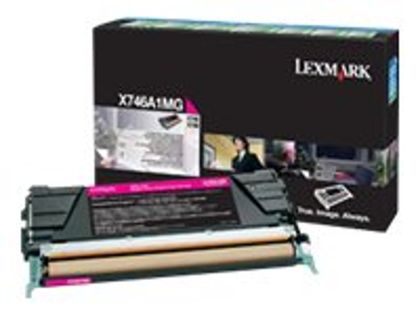 Lexmark Toner Magenta 7k - X746/X748 Return