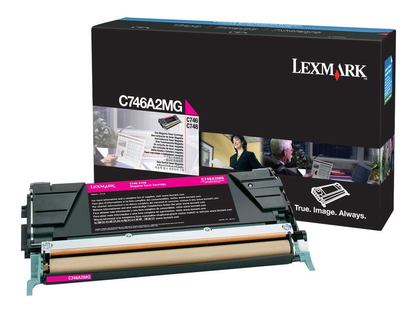 Lexmark Toner Magenta 7k - C746/C748 Return