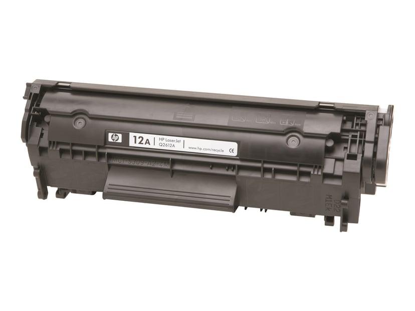 HP Toner Svart 12A 2K - Q2612AD 2-Pack