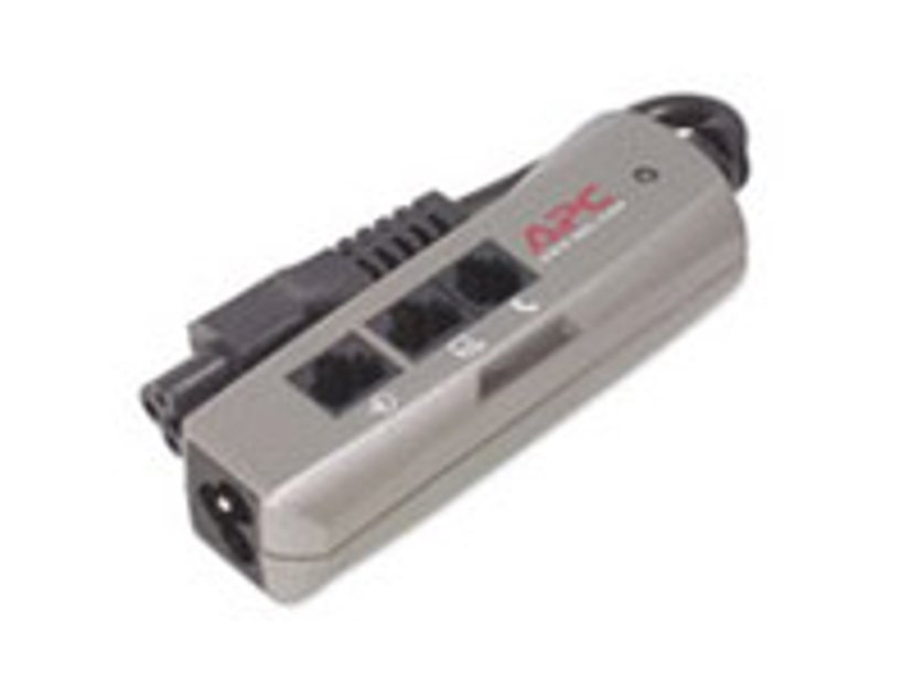 APC SurgeArrest Notebook Pro 4A Extern 1st Ström IEC 60320 C5 Silver