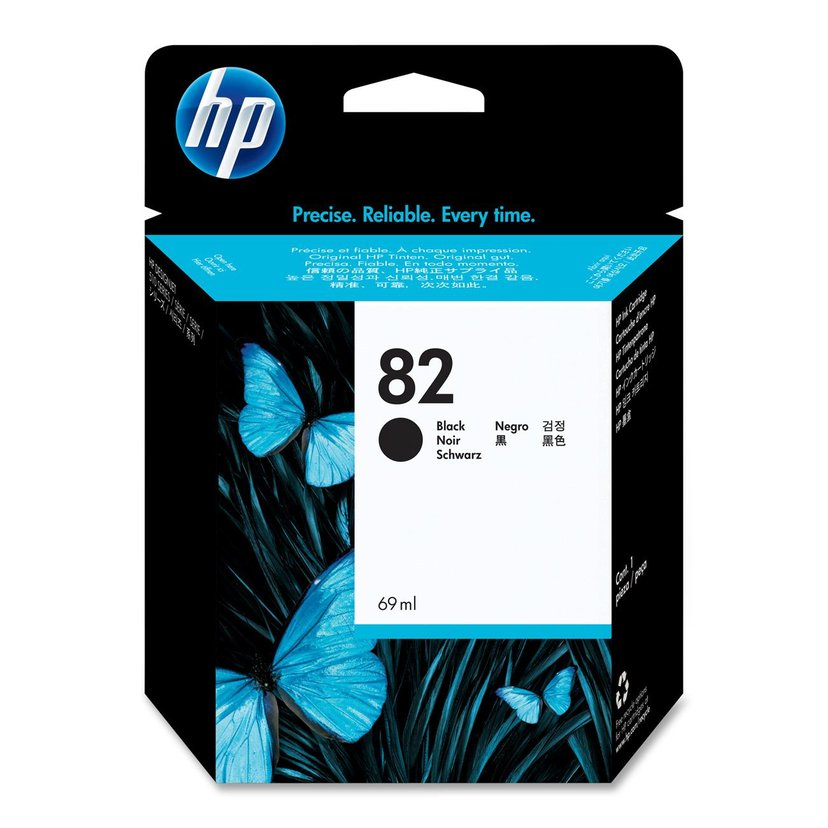 HP Bläck Svart No.82