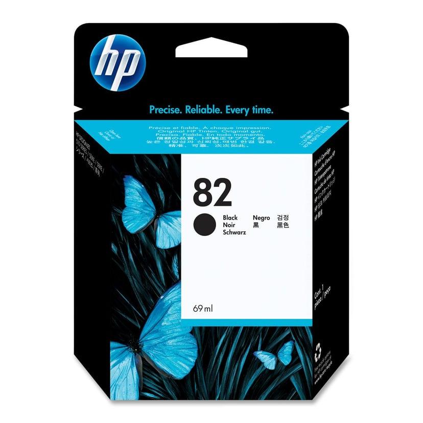 HP Muste Musta No.82