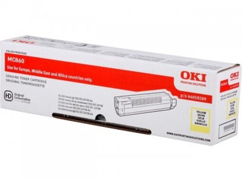 OKI Toner Gul 10k - MC860