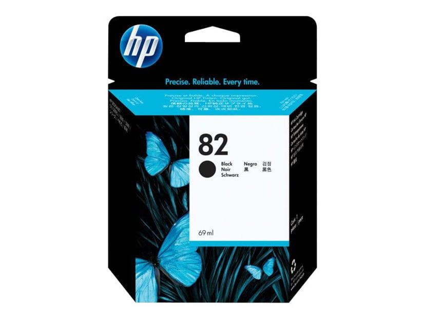 HP Blekk Svart No.82