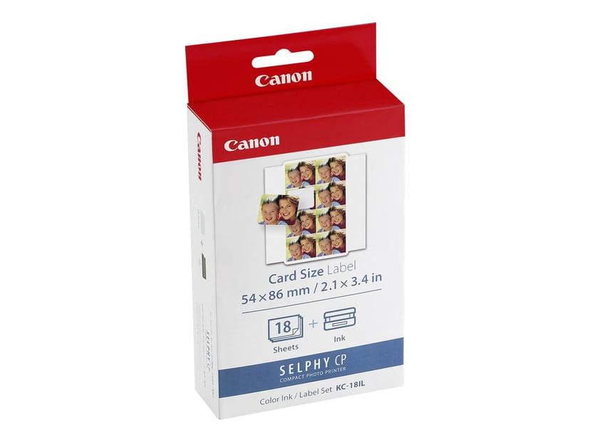 Canon Papper/Bläck KC-18IL Stickers - CP-100/200/300