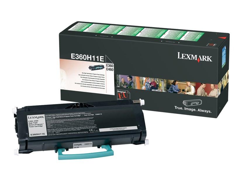 Lexmark Toner Svart 9k - E360/E460 Return