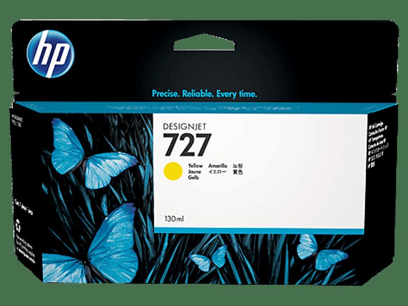 HP Bläck Gul 727 130ml - DJ T920