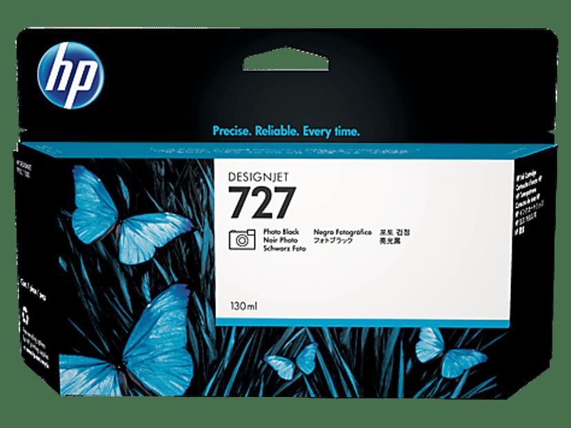 HP Inkt Foto Zwart 727 130ml - DJ T920