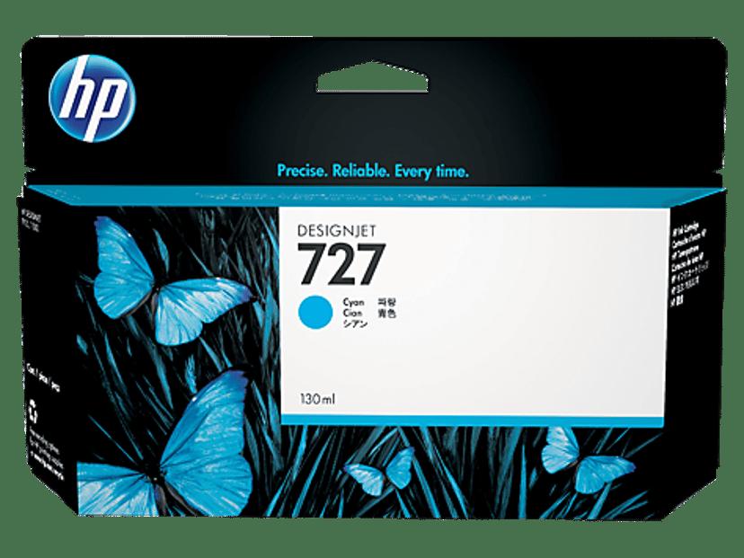 HP Blæk Cyan 727 130ml - DJ T920