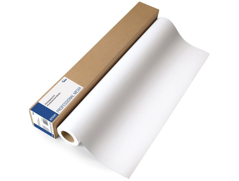 """Epson Papper Enhanced Adhesive Syntetc 24"""" (A1) 30m Rulle 135g"""
