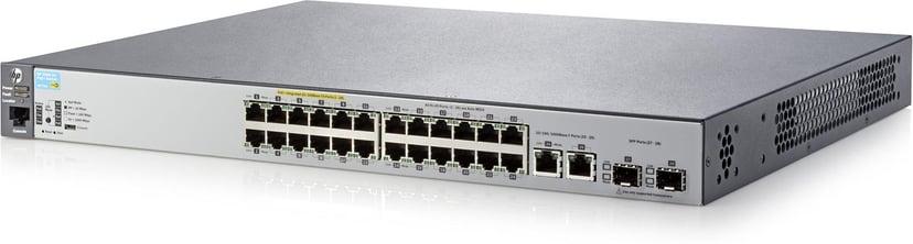 Aruba 2530 24x, SFP PoE+ 195W Web-mgd Switch