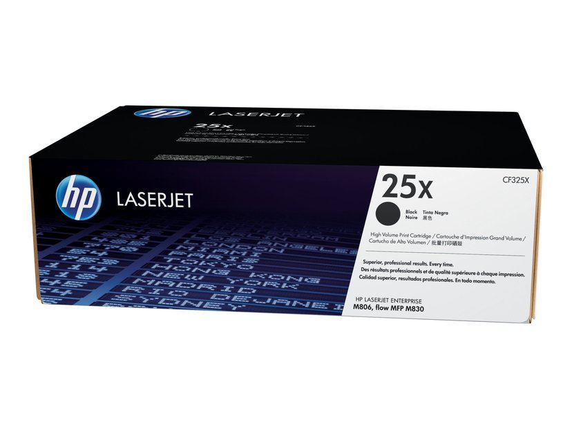 HP Toner Svart 25X - CF325X