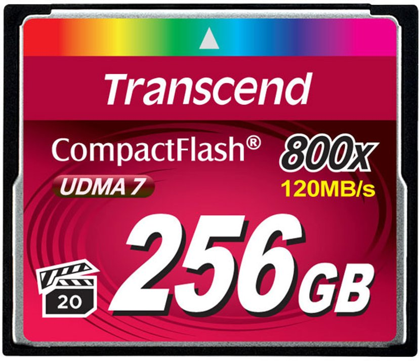 Transcend Premium 256GB CompactFlash Card