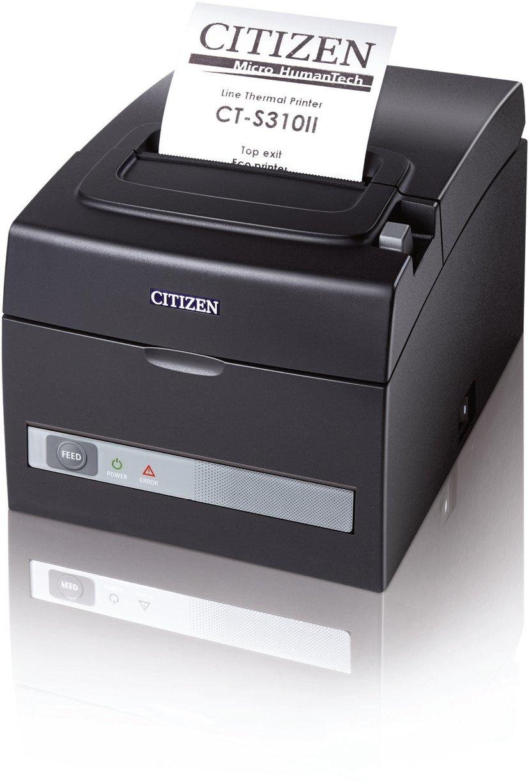 Citizen CT-S310II USB/Seriell, Internal Power Supply Svart