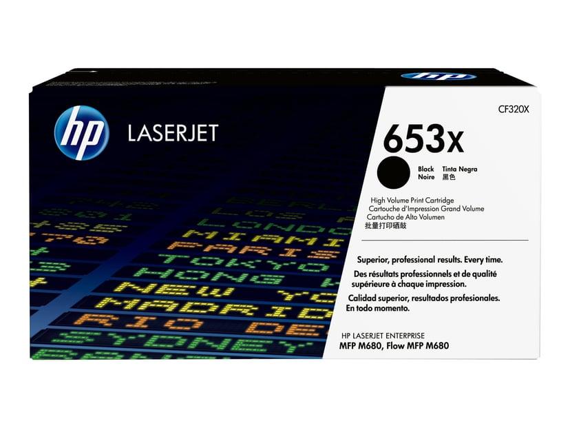 HP Toner Svart 653X 21K - CF320X