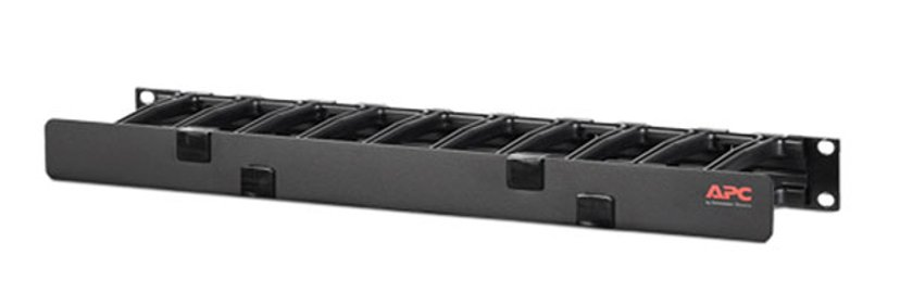 """APC Horizontal Cable Manager Single-Sided with Cover 19"""""""