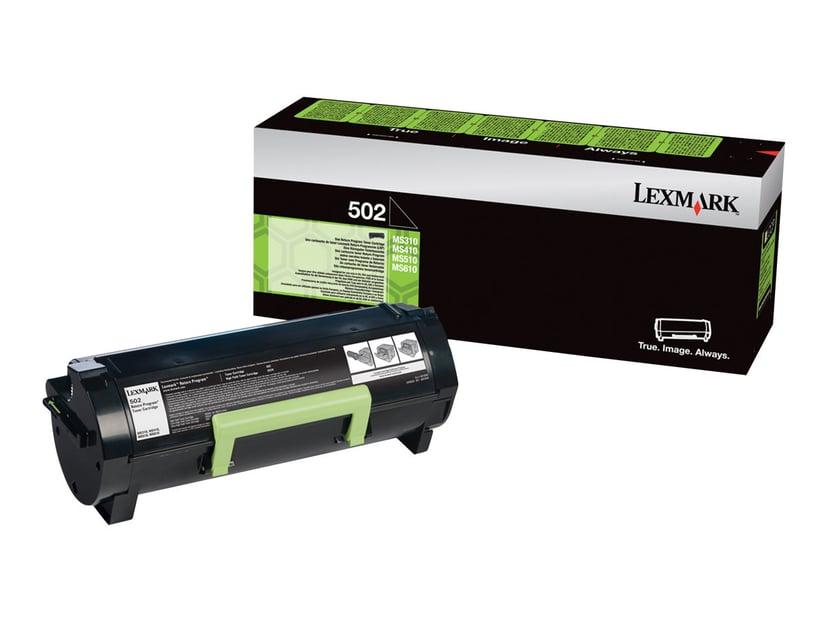 Lexmark Toner Svart 502 1,5k - MS310/312