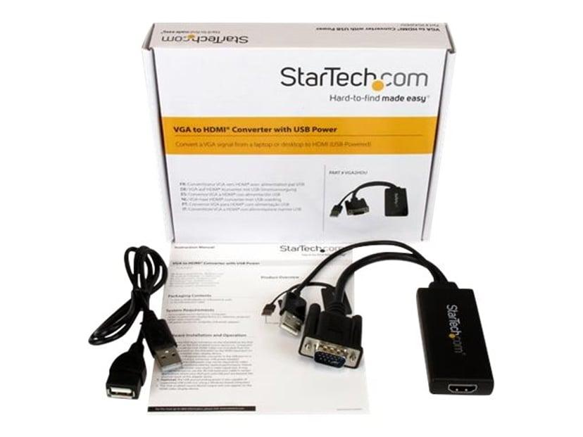 Startech Adapter USB, VGA Hane HDMI Hona