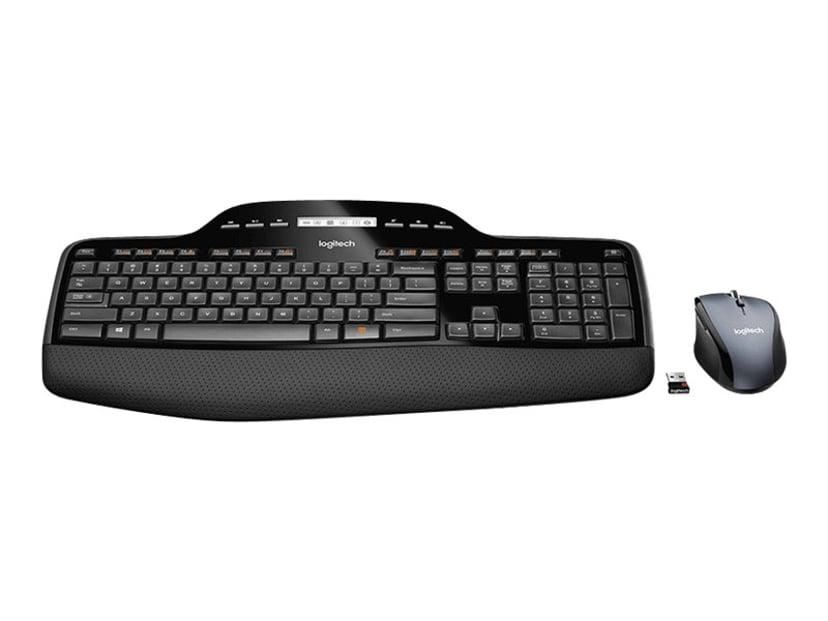 Logitech Wireless Desktop MK710 - sats med tangentbord och mus Tyskt Tyska