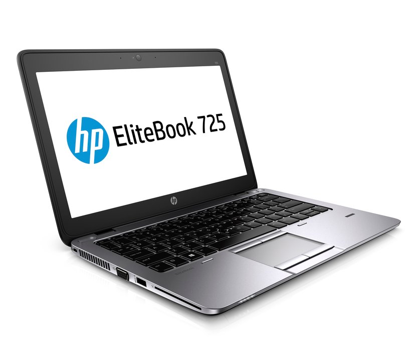 """HP EliteBook 725 G2 A8 4GB 500GB HDD 12.5"""""""