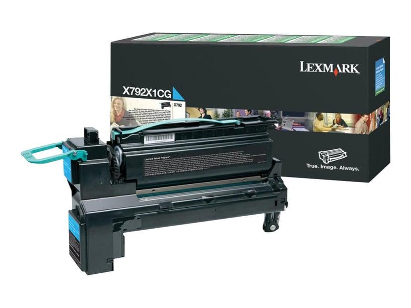Lexmark Toner Cyan 20k - X792DE