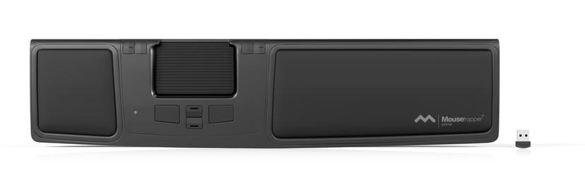 Mousetrapper Prime 2,000dpi Mousetrapper-kontrollpute Kablet, Trådløs Svart