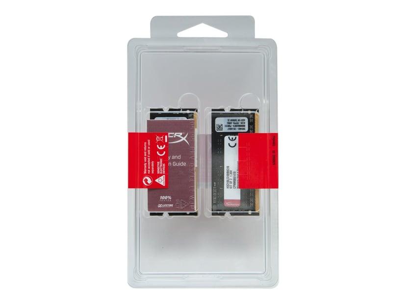 Kingston HyperX Impact Black Series 16GB 1,600MHz DDR3L SDRAM SO DIMM 204-pin