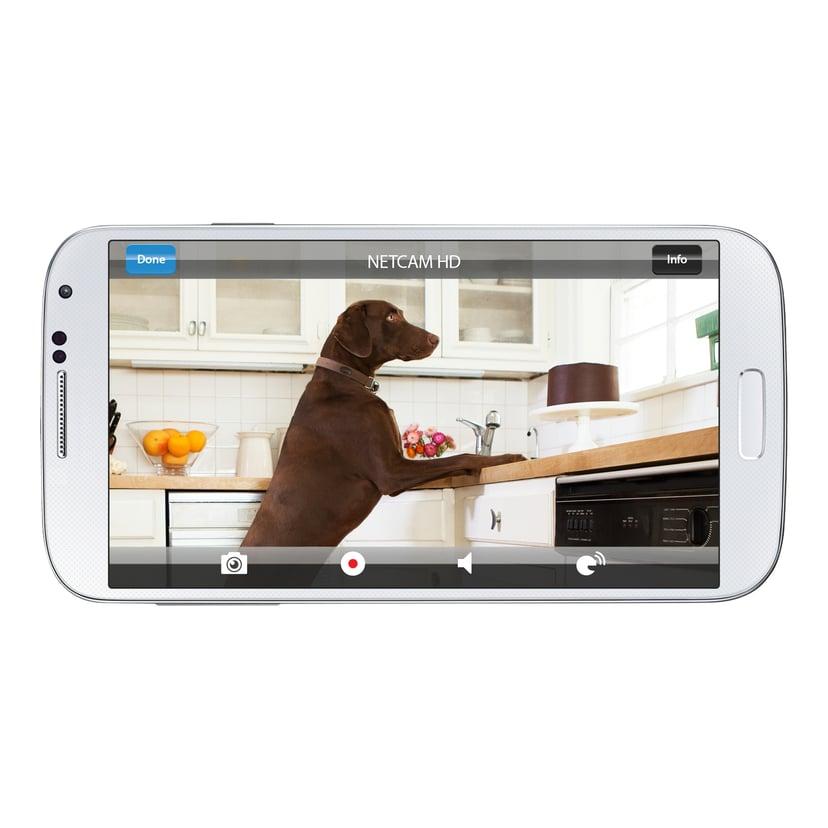 Linksys Belkin WeMo NetCam HD Wi-Fi Camera
