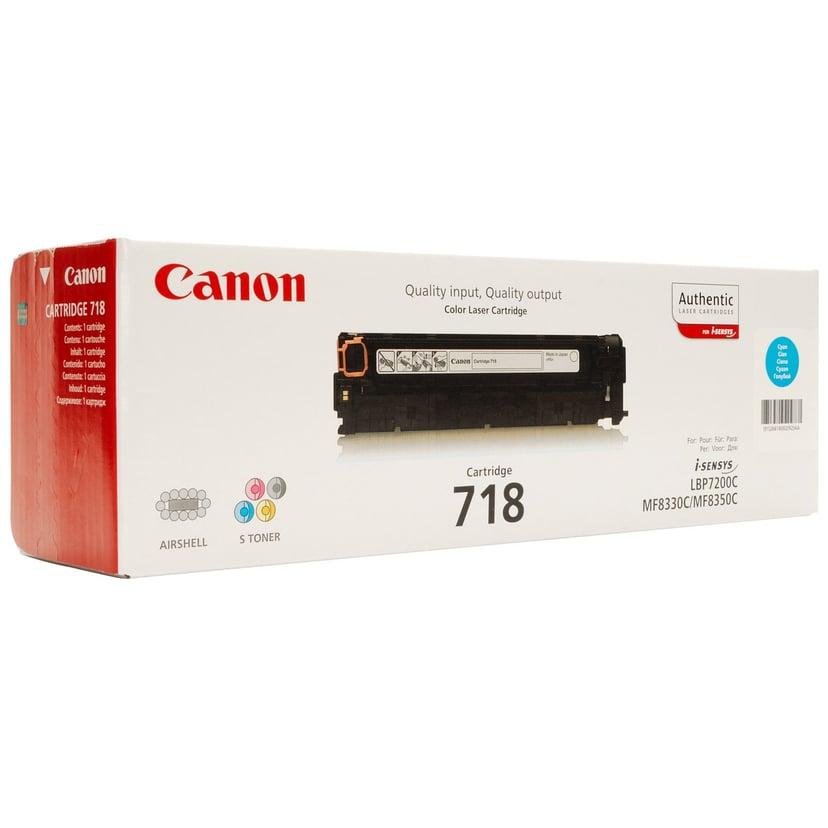 Canon Värikasetti Musta 3.4k Type 718 - MF8330