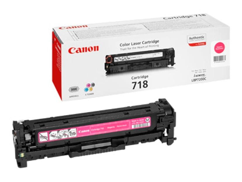 Canon Värikasetti Magenta 2.9k TYPE 718 - MF8330