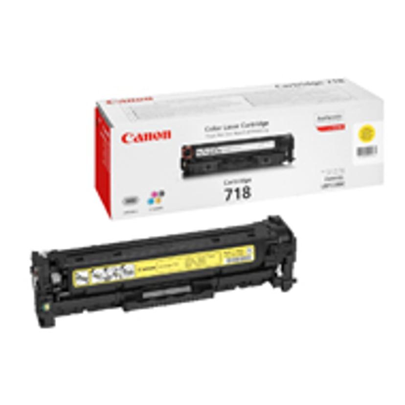 Canon Värikasetti Keltainen 2.9k TYPE 718 - MF8330