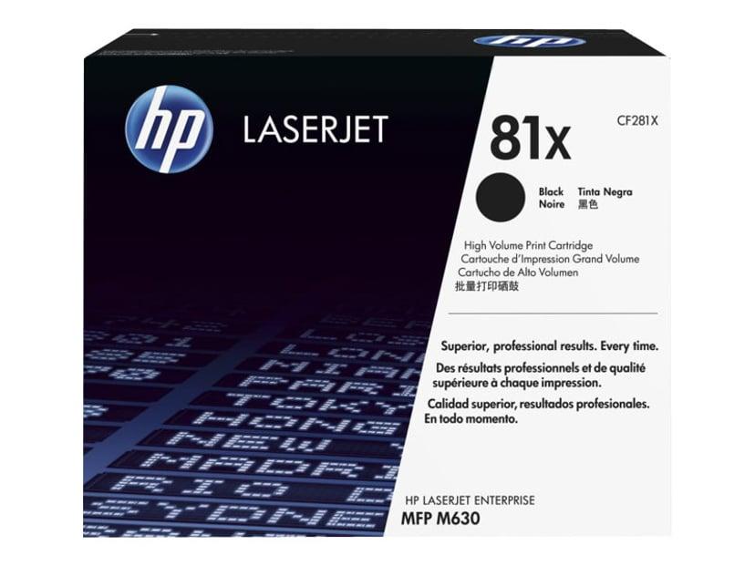 HP Toner Svart 81X 25K - CF281X
