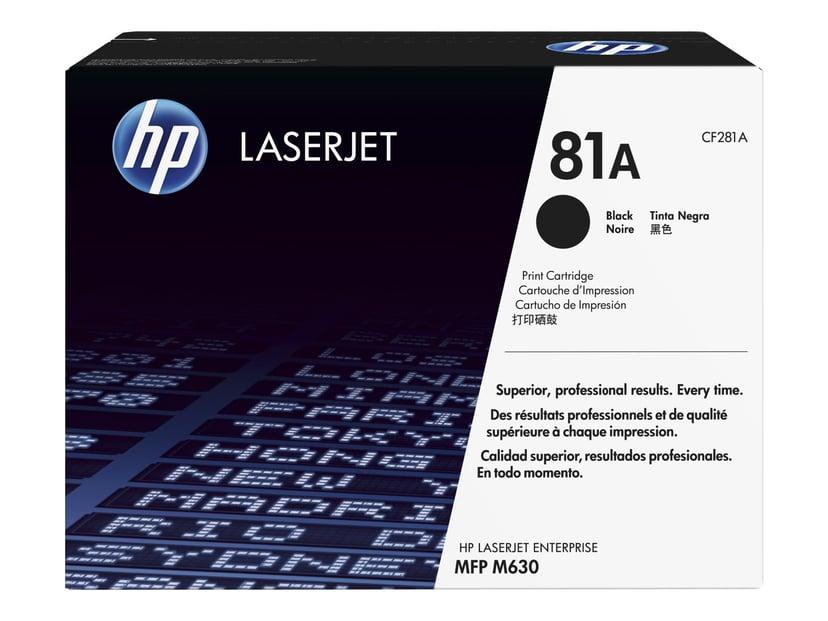 HP Toner Svart 81A 10.5K - CF281A