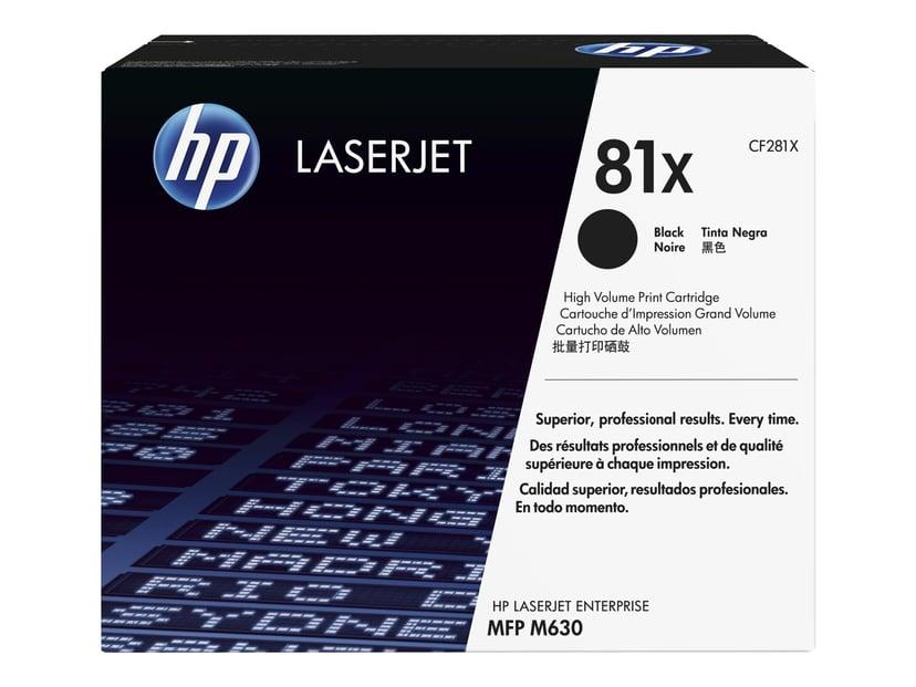 HP Toner Sort 81X 25K - CF281X