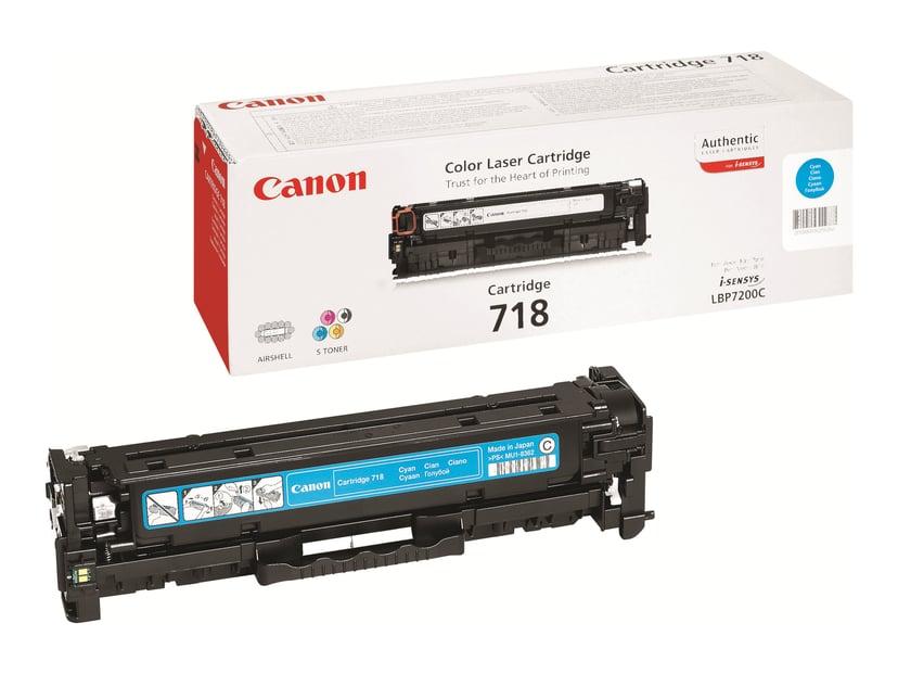 Canon Toner Cyaan 2.9k Type 718 - MF8330