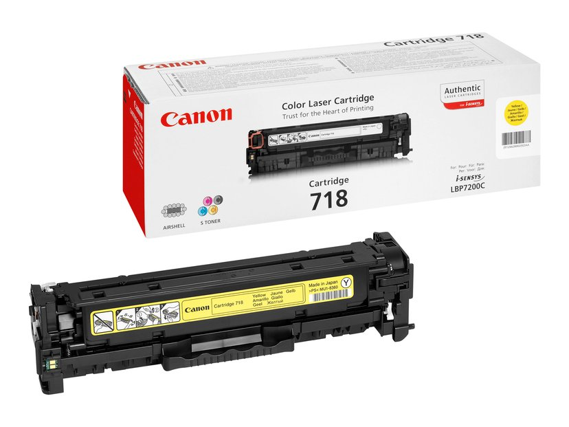 Canon Toner Geel 2.9k TYPE 718 - MF8330