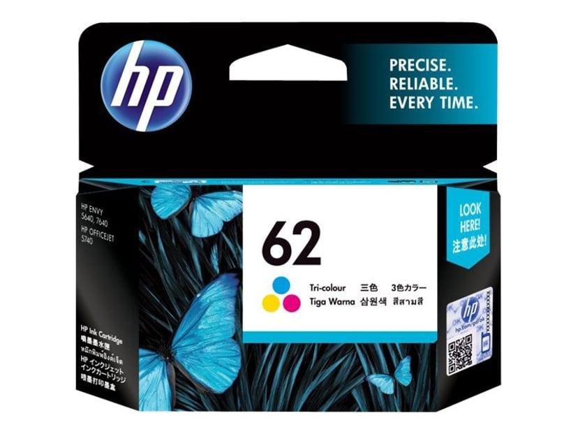 HP Bläck Färg No.62